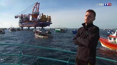 Parc éolien au large de Saint-Brieuc : les pêcheurs à l'attaque