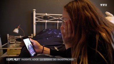 Parents, ados : la guerre des smartphones