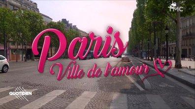 Paris sous les blindés, Paris désertée, mais Paris toujours ville de l'amour <3