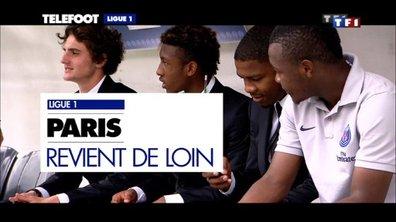 PSG-Guingamp : Paris revient de loin