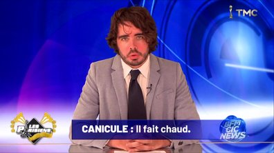 Les Parisiens et la canicule (Eric et Quentin)