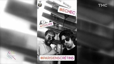 """Les """"Parisiens crétins"""" (Eric et Quentin)"""