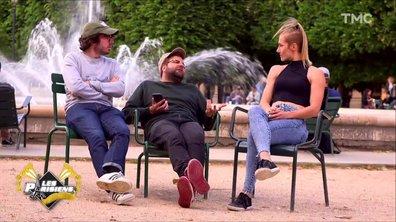 Les Parisiens découvrent le foot féminin (Eric et Quentin)
