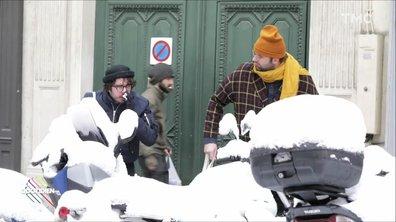 Les parisiens découvrent la neige (Eric et Quentin)