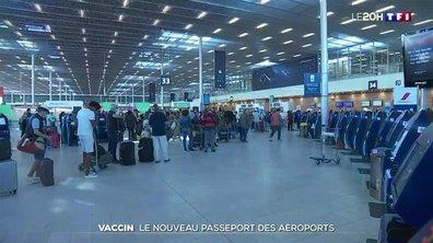 Pass sanitaire : faut-il craindre de longues files d'attente dans les aéroports ?