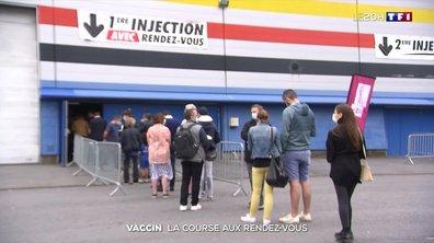 Pass sanitaire : les centres de vaccination pris d'assaut