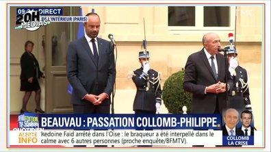 20h Médias : dans les coulisses de la passation de pouvoir Collomb-Philippe