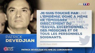 Patrick Devedjian, premier responsable politique français victime du coronavirus