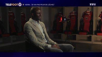 """[EXCLU Téléfoot – 28/10] - Vieira : """"Je me régale à NIce, je n'ai pas peur de l'échec"""""""