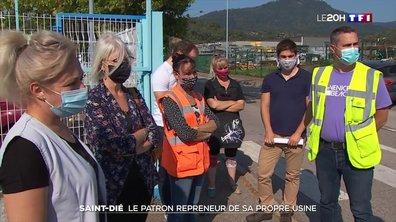 Patron repreneur de sa propre usine : l'affaire suscite l'indignation dans les Vosges