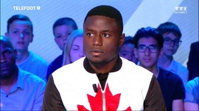 """Paul-Georges Ntep : """"Le collectif de l'Equipe de France fera la différence contre l'Irlande"""""""