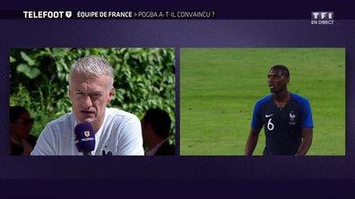 """[Exclu Téléfoot 10/06] - Deschamps : """"Pogba sera sûrement titulaire contre l'Australie"""""""