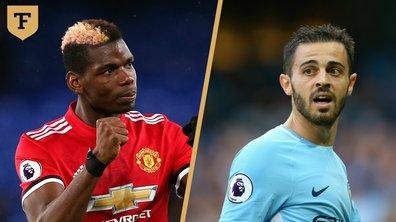 Premier League : Bernardo Silva et Paul Pogba, les invincibles