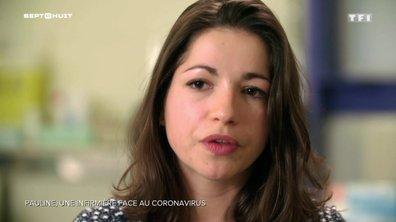 Pauline, une infirmière face au coronavirus