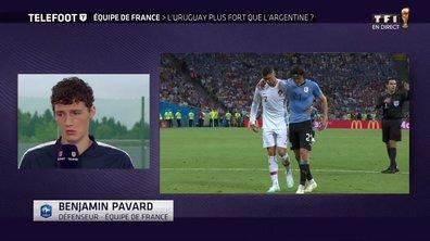 """[Exclu Téléfoot 01/07] - Pavard : """"On n'a pas eu peur de Messi, ce n'est pas Cavani ou Suarez qui vont nous faire peur"""""""
