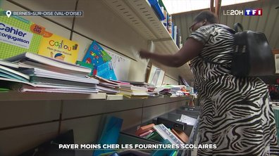 Payer moins cher les fournitures scolaires.