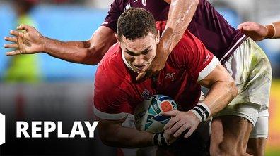 Pays de Galles - Georgie (Coupe du monde de rugby - Japon 2019)