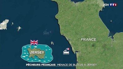 Pêcheurs français : menace de blocus à Jersey
