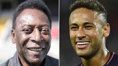 Brésil : Pelé confiant pour Neymar