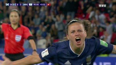 Ecosse - Argentine (3 - 3) : Voir le but sur penalty de Florencia Bonsegundo en vidéo - l'incroyable dénouement