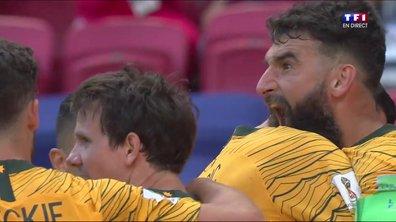 France-Australie : les Socceroos égalisent dans la foulée, eux aussi sur penalty