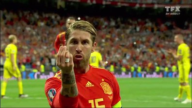 Espagne - Suède (1 - 0) : Voir le but sur penalty de Sergio Ramos en vidéo