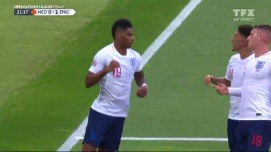 Pays-Bas - Angleterre (0 - 1) : Voir le penalty de Rashford en vidéo