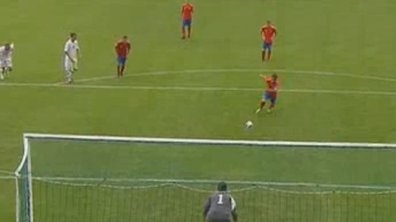 Euro U19 : Ezequiel marque un penalty en s'inspirant d'Henry