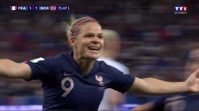 France - Norvège (2 - 1) : Voir le but sur penalty de Le Sommer en vidéo