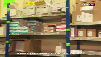 Pénurie de médicaments : le cri d'alarme des médecins