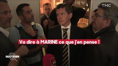 """Perquisition de la FI : Mélenchon sous-entend que les forces de l'ordre sont """"membres du Front national"""""""