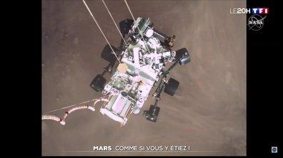 Perseverance sur Mars : les images de son atterrissage à haut risque