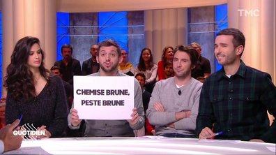 """""""Peste brune"""" sur les Champs-Elysées : la violente charge de Gérald Darmanin contre les manifestants"""