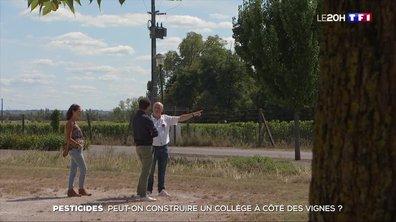 Pesticides : peut-on construire un collège à côté des vignes ?