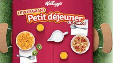 Le plus grand petit déjeuner de France par Kellog's