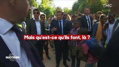 Le petit geste d'Emmanuel Macron qui prouve que l'affaire Benalla a laissé des traces