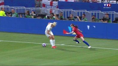 Angleterre - USA (0 - 0) : Voir le festival de Lavelle en vidéo !