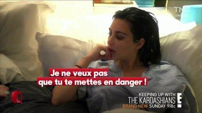 Le petit Q : Kim Kardashian en danger de mort