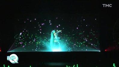 Le Petit Q : au concert d'Hatsune Miku, l'hologramme japonais