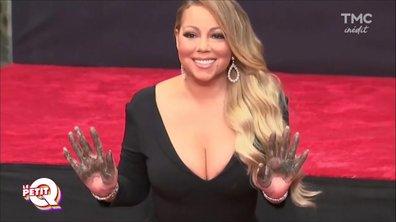 Le Petit Q : Mariah Carey dans le ciment