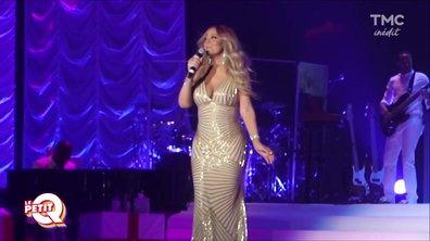 Le petit Q : le passage de Mariah Carey à Paris
