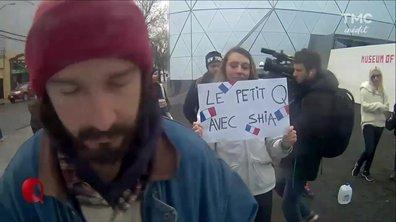Le Petit Q : Shia Labeouf soutenu par Le Petit Q