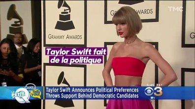 Le Petit Q : Taylor Swift s'engage pour les midterms