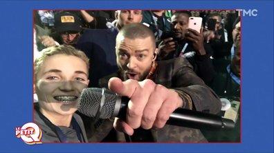 Le Petit Q : Tournée médias pour le « Selfie Kid » de Justin Timberlake
