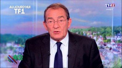 Le petit rototo très discret de Jean-Pierre Pernaut au JT