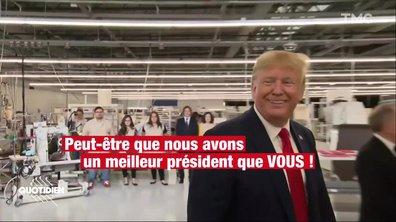 La petite phrase de Donald Trump sur Emmanuel Macron et le chômage