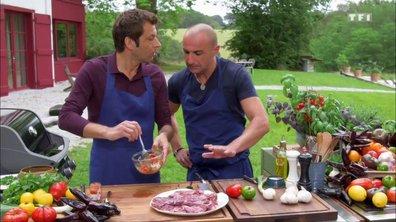 Hampe de porc au barbecue, sauce cochon