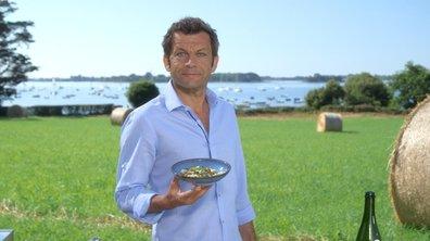 Salade de chou-fleur et moules de bouchot de Cancale au Kari Gosse