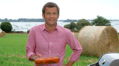 Sardines mi-escabèche mi-charcutière à la salicorne