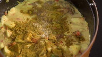 Curry d'agneau à l'ancienne